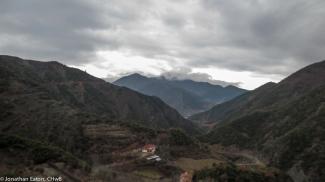 The valley where Spaç is located   Lugina ku ndodhet Spaçi