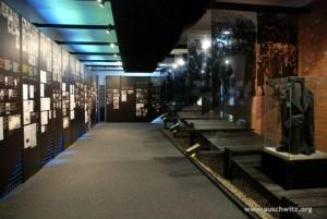 National exhibit: Slovakia, Block 16. Photo courtesy of Auschwitz-Birkenau Memorial and Museum