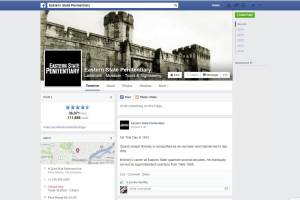 Eastern State Penitentiary's Facebook page.