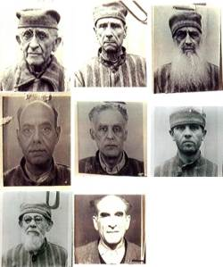 Some of the political prisoners brought to Sighet in 1950.  Photo courtesy of memorialsighet.ro