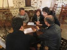 Group work to formulate future objectives for a museum in Spaç | Punë në grup për të formuluar objektivat e ardhshme për një muze në Spaç