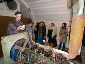 Inside the anti-nuclear tunnel of Gjirokastra, exploring the few remained objects. | Në brendësi të tunelit anti-bërthamor të Gjirokastrës duke eksploruar objektet e pakta te mbetura.