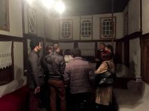 Nasip Skënduli tells about his house. | Nasip Skënduli tregon për shtëpinë e tij.